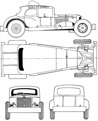 Blueprints cars various cars a35 rocket stock car a35 rocket stock car malvernweather Images