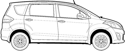 The blueprints blueprints cars various cars maruti maruti ertiga 2013 malvernweather Choice Image