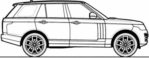blueprints  u0026gt  cars  u0026gt  various cars  u0026gt  range rover  2013