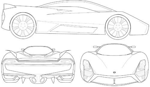 the car tuatara