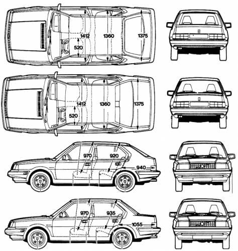 Volvo 360. Volvo 360