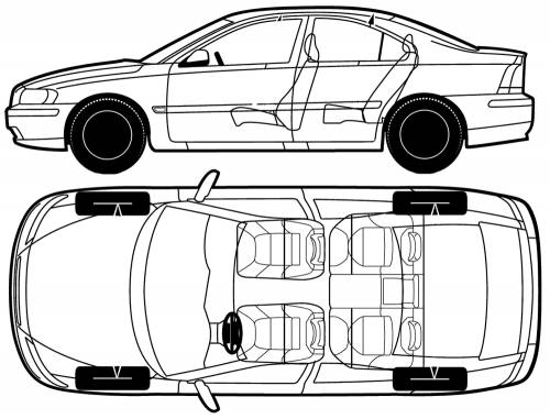 TheBlueprintscom  Blueprints  Cars  Volvo  Volvo S60