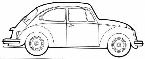 volkswagen beetle 1200  1978