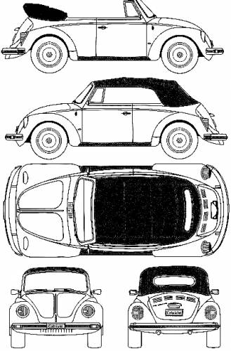 blueprints  u0026gt  cars  u0026gt  volkswagen  u0026gt  volkswagen beetle 1303s