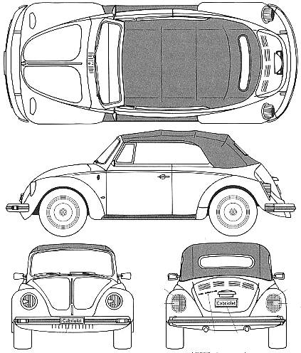 vector requests volkswagen beetle 1303s cabriolet 1975. Black Bedroom Furniture Sets. Home Design Ideas
