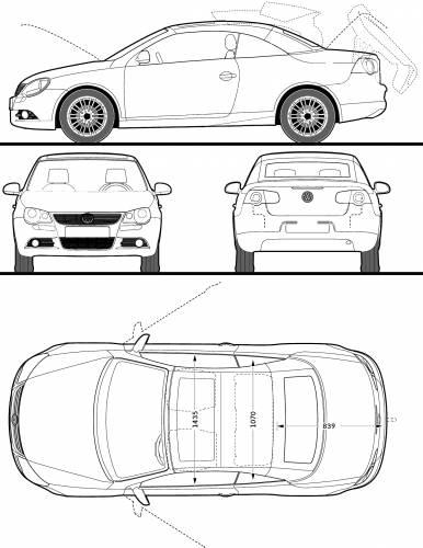 Volkswagen Eos 2009. Volkswagen Eos (2009) Original image dimensions: 1494 x 1933px