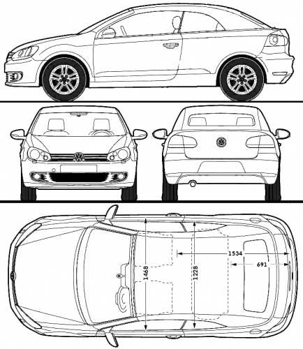 volkswagen golf mk vi cabriolet 2011. Black Bedroom Furniture Sets. Home Design Ideas