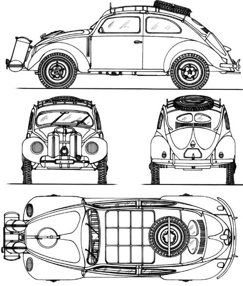 theblueprintscom blueprints cars volkswagen volkswagen kdf
