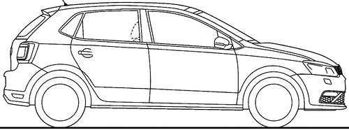 blueprints  u0026gt  cars  u0026gt  volkswagen  u0026gt  volkswagen polo 5