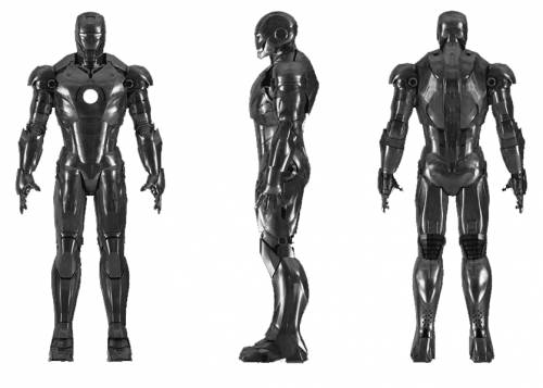 Iron Man 2008 Mark II