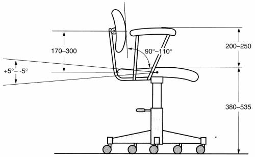 blueprints miscellaneous furniture office chair