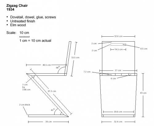 Rietveld Zigzag Chair