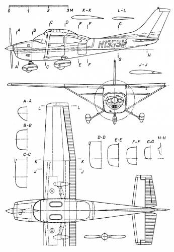 Cessna 182 Interior Specs