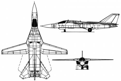 ... Modern airplanes > General Dynamics > General Dynamics F-111 Aardvark