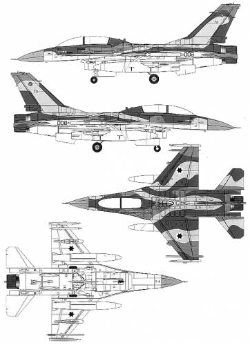 General Dynamics F-16B Fighting Falcon