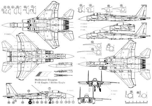 blueprints  u0026gt  modern airplanes  u0026gt  mcdonnell douglas