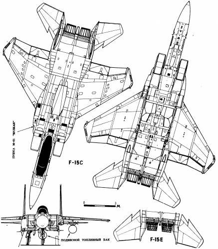 Blueprints Modern Airplanes Mcdonnell Douglas Mcdonnell
