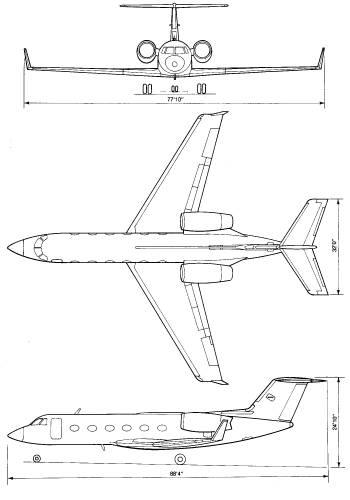Private jet blueprint pustcha theblueprints blueprints gt modern airplanes gt modern g gt gulf malvernweather Choice Image