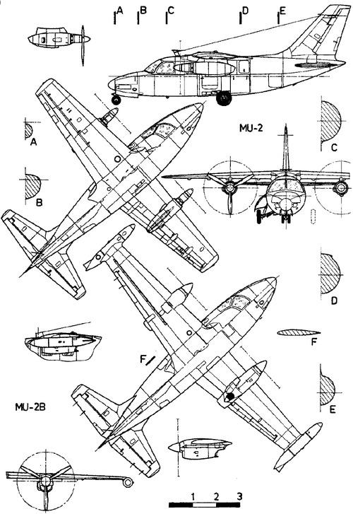 Mitsubishi Mu 2 Schematic