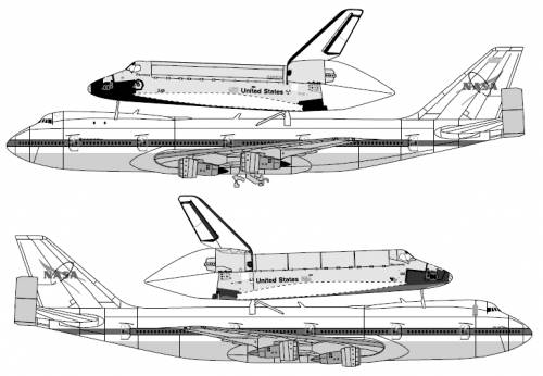 space shuttle cockpit dimension drawing - photo #10
