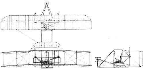 Wright+brothers+plane+blueprints