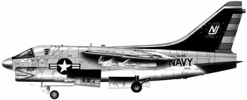 Vought A-7B Corsair II