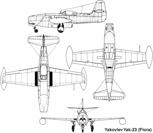 Yakovlev Yak 27 Tweet Military Aircrafts
