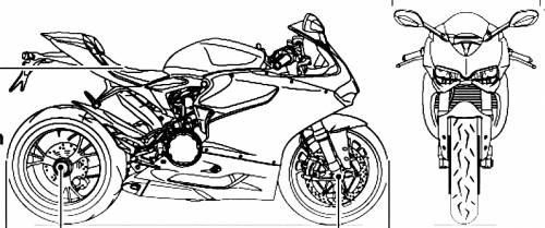 Ducati Panigale Blueprint Ducati Superbike 1199 Panigale
