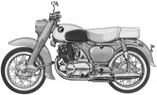 1966 Honda Dream CA77