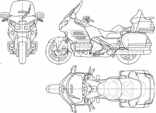 honda civic top view coloring pages