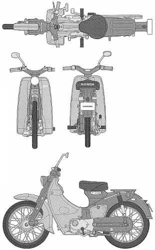 Honda Super Cub (1958)