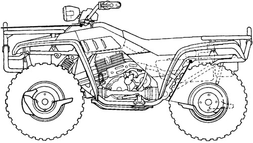 blueprints  u0026gt  motorcycles  u0026gt  honda  u0026gt  honda trx 350  1986