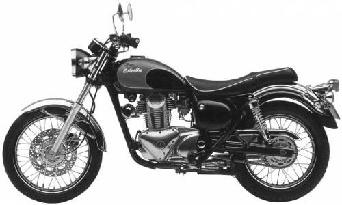 Kawasaki 250. Kawasaki BJ250 Estrella (1996)