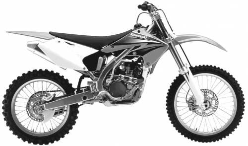 Kawasaki 250f Graphics. Kawasaki KX250F (2004)