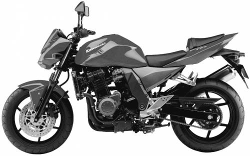 2003-2007 KAWASAKI Z750 - REPAIR MANUAL