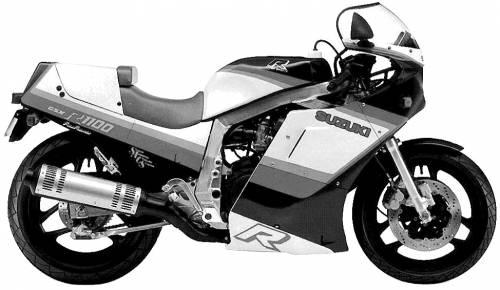 Suzuki GSX R1100 (1986) Original image dimensions: 974 x 566px