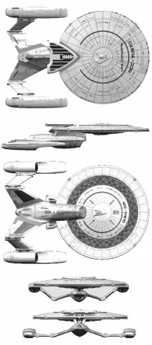 The blueprints blueprints science fiction star trek charleston ncc 70570 a malvernweather Images