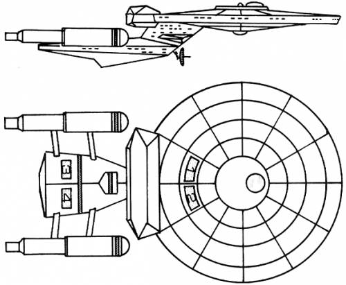 Blueprints Science Fiction Star Trek U F P And Starfleet