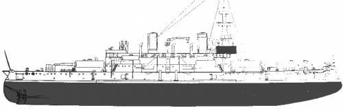 USS BB-3 Oregon