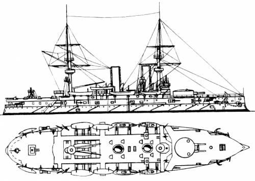 Russia Imperator Nikolay I (Battleship)