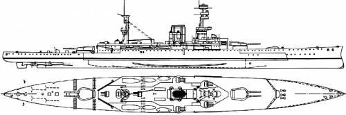 HMS Courageous (Battlecruiser) (1916)