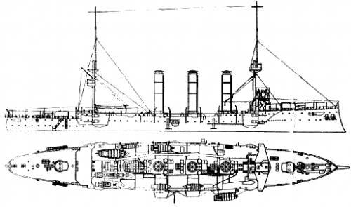 HMS Cumberland (Armored Cruiser) (1904)