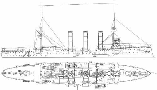 HMS Cumberland (Armoured Cruiser) (1904)
