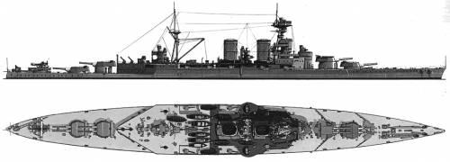 HMS Hood (Battlecruiser)