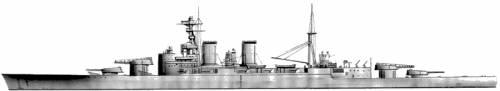 HMS Hood (Battlecruiser) (1939)