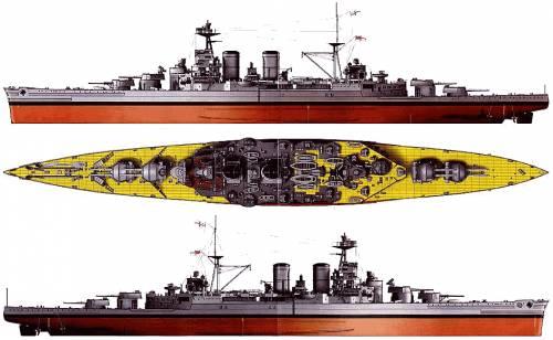 HMS Hood (Battlecruiser) (1940)