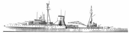 HMS Leander (1939)