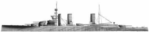 HMS Lion (Battlecruiser) (1911)
