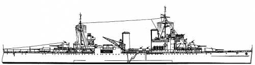 HMS London (1943)