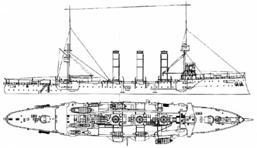 HMS Monmouth (Cruiser) (1901)